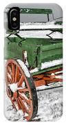 Vintage Wagon In The Snow E98 IPhone Case