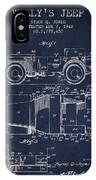 Vintage Willys Jeep Patent From 1942 IPhone X Case