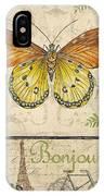 Vintage Wings-paris-l IPhone Case