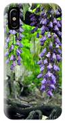 Vintage Wisteria 200 IPhone Case