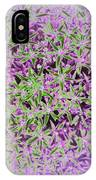 Violet And Green IPhone Case