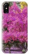 Violet Autumn IPhone Case