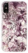 Violet Close Up IPhone Case