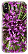 Violet Fireworks IPhone Case