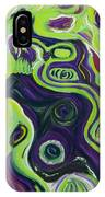 Violeta E Verde IPhone Case