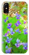 Violets IPhone X Case