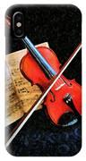 Violin Impression Redux IPhone Case
