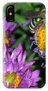 Virescent Metallic Green Bee IPhone Case