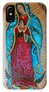 Virgen De Guadalupe - Guadalupe Virgin - Lady Of Guadalupe IPhone Case