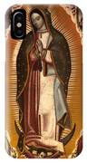 Virgin Of Guadalupe IPhone Case