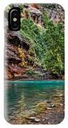 Virgin River Zion National Park Utah IPhone Case