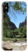Virgin River  Zion Np IPhone Case