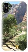 Virgin River Zion Valley IPhone Case