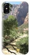 Virgin River Zion Valley IPhone Case