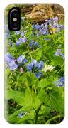Virginia Bluebells IPhone X Case
