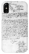 Virginia Council, 1778 IPhone Case