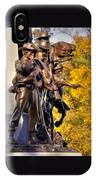 Virginia To Her Sons At Gettysburg - War Fighters - Band Of Brothers 1a IPhone Case