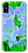 Virginia Waterleaf Near Alamo-michigan IPhone Case