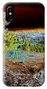 Visiting Rimrock In Spokane IPhone Case