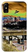 Visiting Spokane IPhone Case