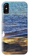 Visitor - Lake Tahoe IPhone Case