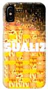 Visualize Gold IPhone Case