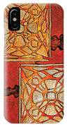 Vitrales II From The Frank Lloyd Wright A Mano Series IPhone Case