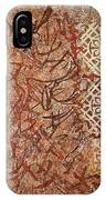 Vitrales Iv From The Frank Lloyd Wright A Mano Series IPhone Case