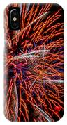 Vivid Red IPhone Case