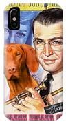 Vizsla Art Canvas Print - The Glenn Miller Story Movie Poster IPhone Case