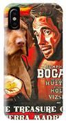 Vizsla Art Canvas Print - The Treasure Of The Sierra Madre Movie Poster IPhone Case