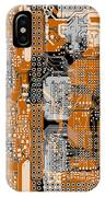 Vo96 Circuit 1 IPhone Case