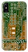 Vo96 Circuit 3 IPhone Case