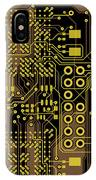 Vo96 Circuit 5 IPhone Case
