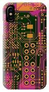 Vo96 Circuit 6 IPhone Case