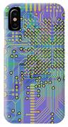 Vo96 Circuit 7 IPhone Case