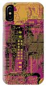 Vo96 Circuit 8 IPhone Case