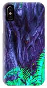 Volcanic Tree 2 IPhone Case