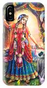Vrinda Devi IPhone X Case
