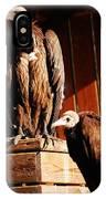 Vulture Male IPhone Case