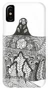 Vulture Wild Ink IPhone Case