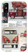 Vw Camper Collage IPhone Case