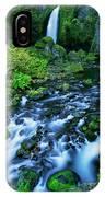 Wachlella Falls Columbia River Gorge National Scenic Area Oregon IPhone Case