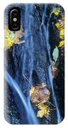 Wachlella Falls Detail Columbia River Gorge IPhone Case