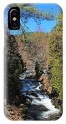 Wachusett Reservoir Spillway 2 IPhone Case