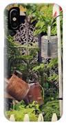 Wacky Watering Can Garden IPhone Case