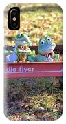 Wagon Full Of Frogs IPhone Case