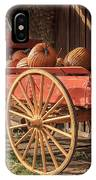 Wagon Full Of Pumpkins IPhone Case