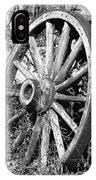 Wagon Wheel - No Where To Go - Bw 01 IPhone Case