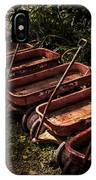 Wagons Of Yesterday IPhone Case